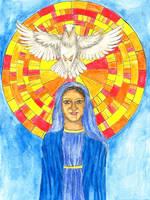 Pentecost 2019 by szynszyla-stokrotka