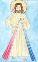 Merciful Jesus by szynszyla-stokrotka