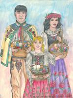 Easter Basket Blessing 2020 by szynszyla-stokrotka