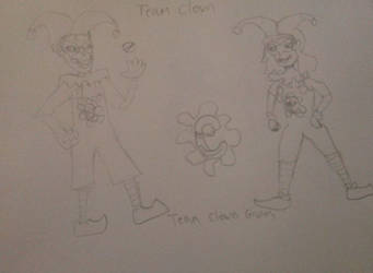 Pokemon Sword and Shield Team Clown Grunts by rywilliam91