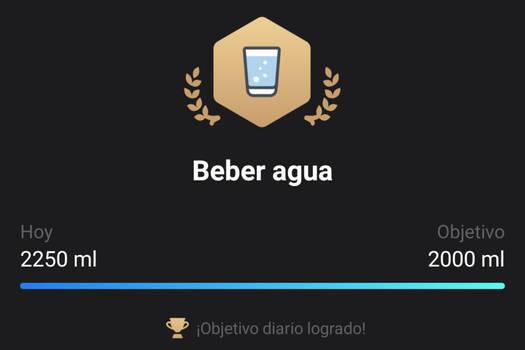1er logro de agua