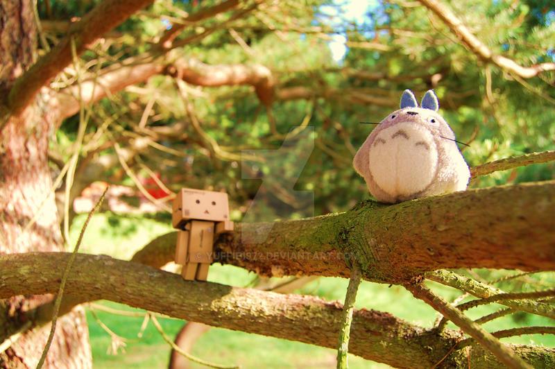 Danbo meets Totoro ........... by Yuffie1972