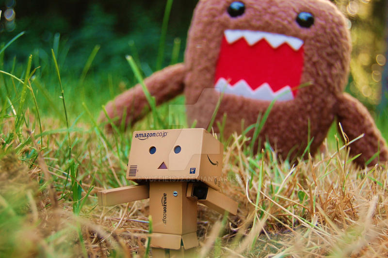Run Danbo Run ................ by Yuffie1972
