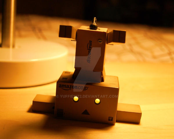 Decapitated Danbo ............ by Yuffie1972