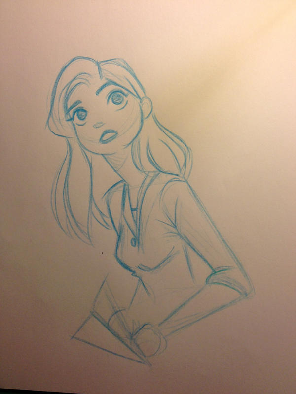 Meg :Paperman: by Yuffie1972