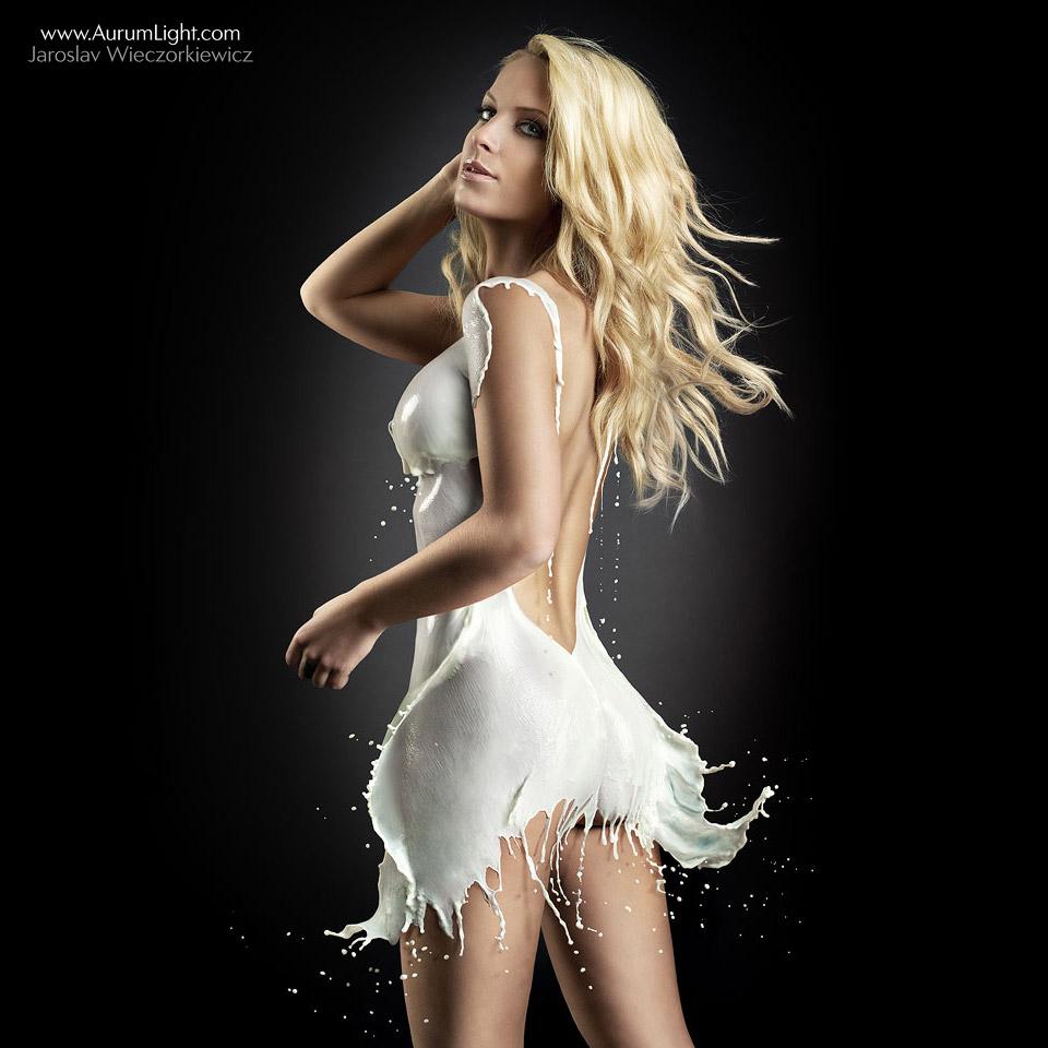 The Milky Dress by Jaroslav-AurumLight