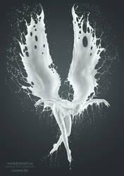 FALLEN ANGELS - AurumLight - 2016 MILK Calendar by Jaroslav-AurumLight