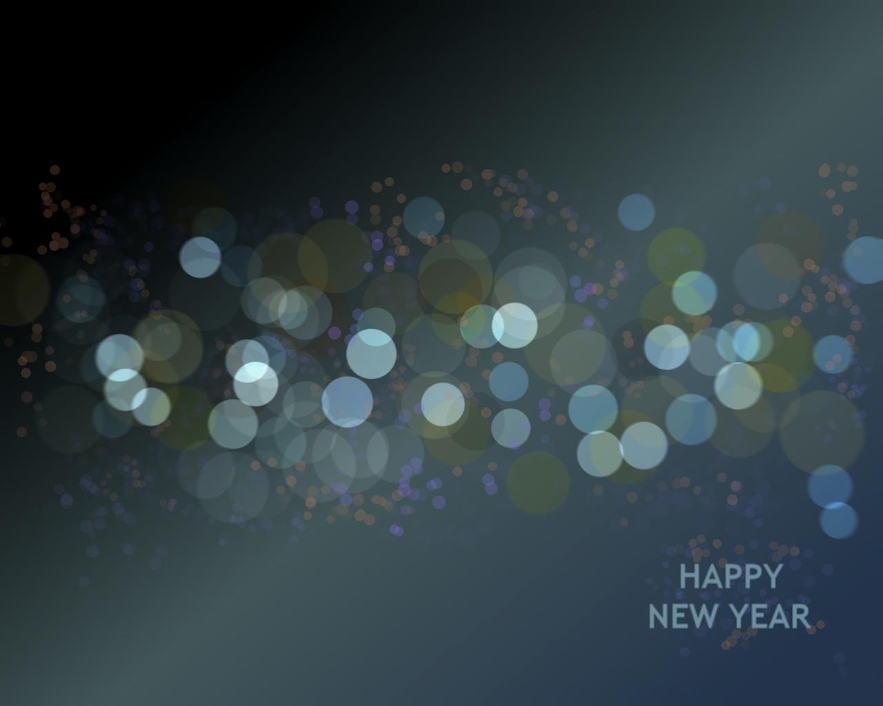 Minimalistic New Year Wallp.
