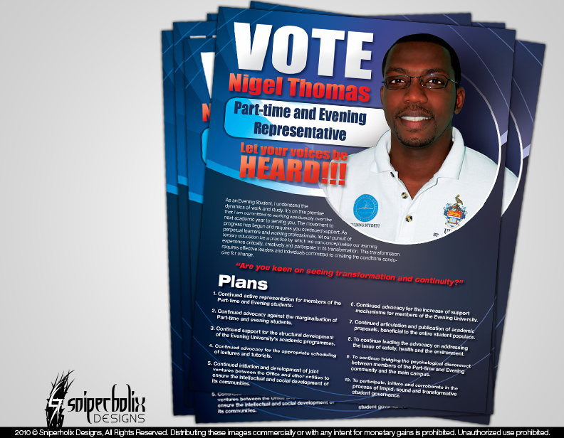 Nigel Election Flyer by sniperholix on DeviantArt – Election Brochure
