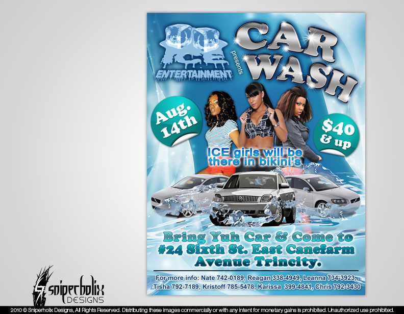 Car Wash Flyers Templates Papak Cmi C Org