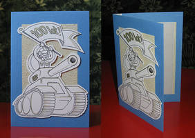 birthday card commission: tank by n-th-green
