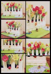 Window Box Cake by megilwenn
