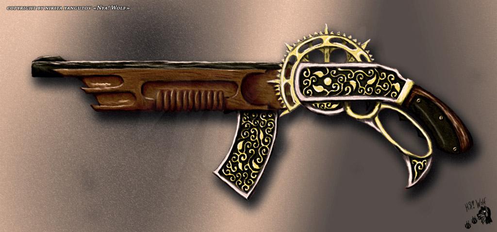 Shotgun by White-Wolf-Redgrave