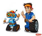 Mechanic team.
