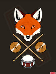 Drum Fox by WWRedGrave