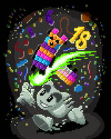 Happy Birthday DA :D by WWRedGrave