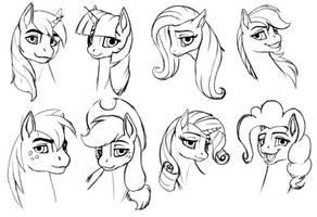 Pony practice
