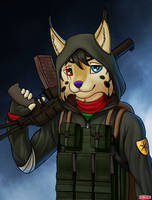 Commission - Fitz The-Lynx by WWRedGrave