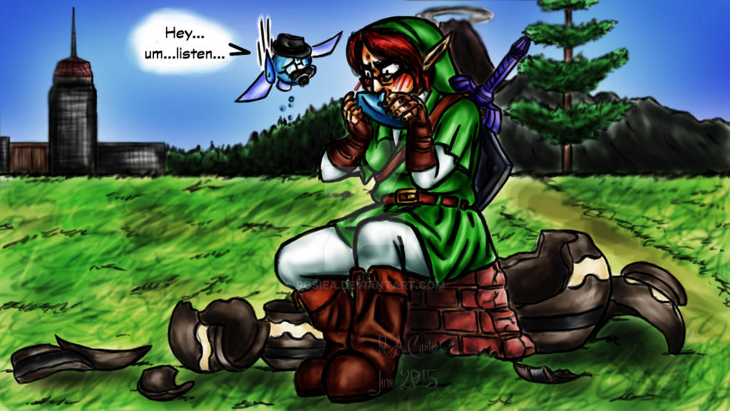 how to play ocarina of time
