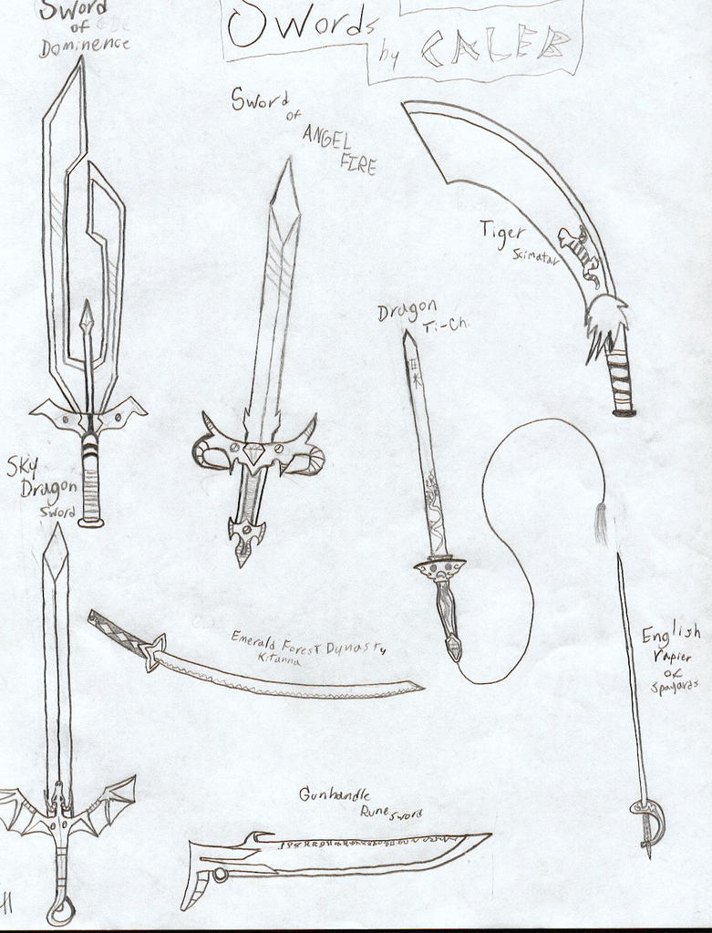 Four swords that may or may not be used in the future yes i ve gone