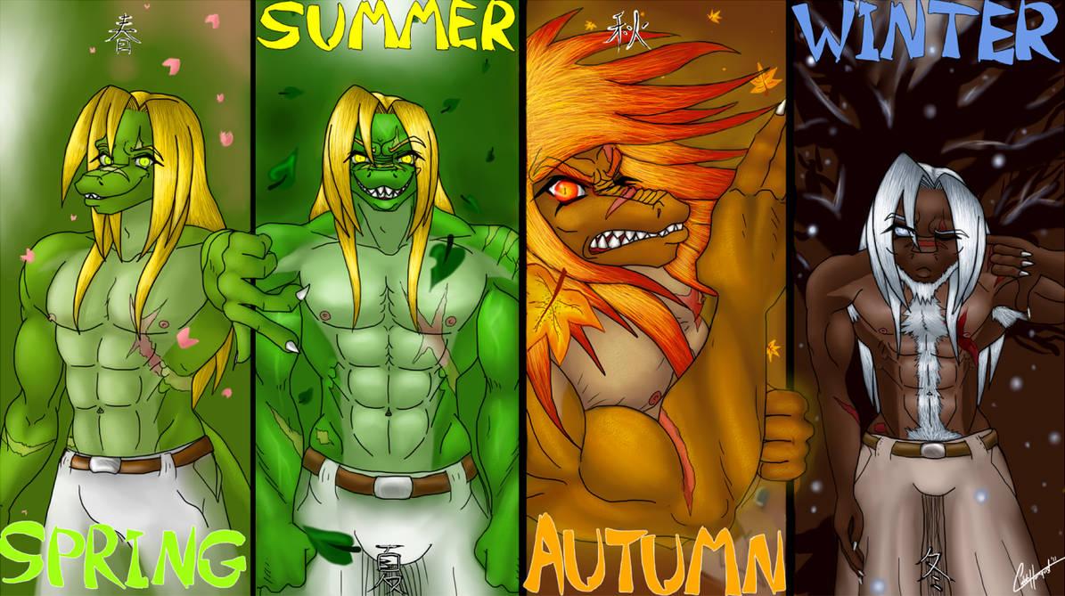 4 seasons, 1 demon