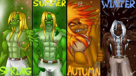 4 seasons, 1 demon by Caneleb