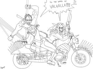 Madmax Deadly Duo Lineart