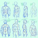 male pose study 01