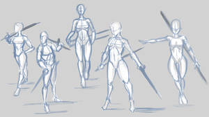 Pose Practice01 by inferno0droga