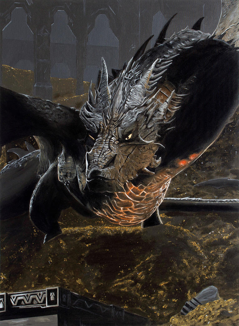 smaug the dragon hobbit - photo #27