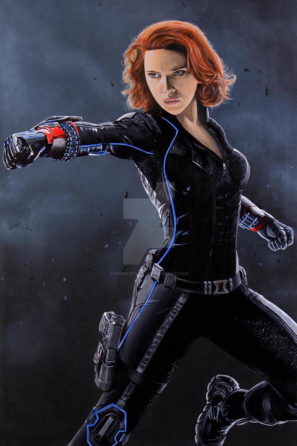 Black Widow By Masbartlett On Deviantart-5203