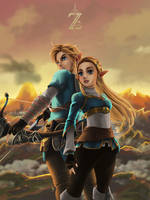 Zelda Breath of the Wild by MASbartlett
