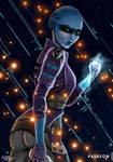 Mass Effect Peebee by MASbartlett