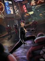 Catwoman by MASbartlett