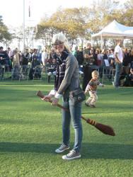 Luna Playing Quidditch