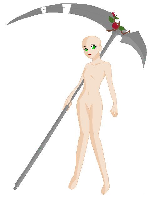 Chibi Human Base Ms Paint Golfclub