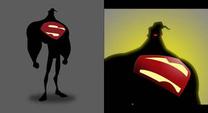 supes silhouette