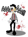 screaming mime