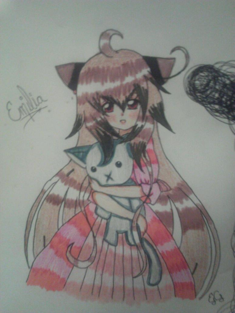 Dear sweet emilia by KittyMitsu