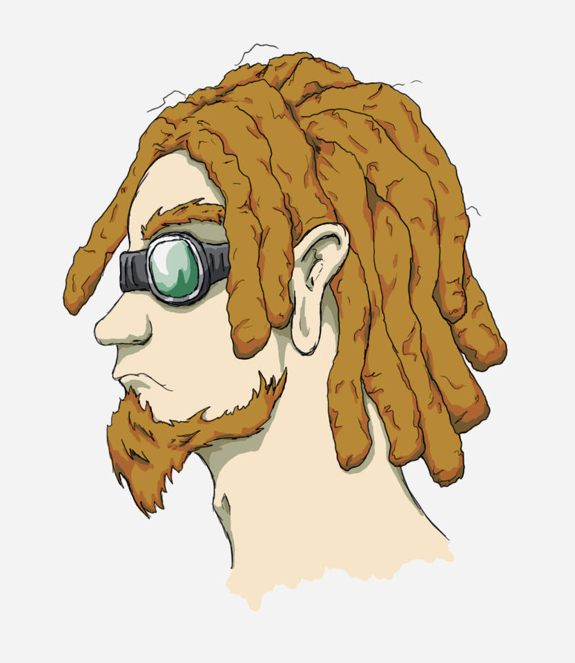 Cartoon Characters With Dreads : Dreadlock rock star by goblinpath on deviantart