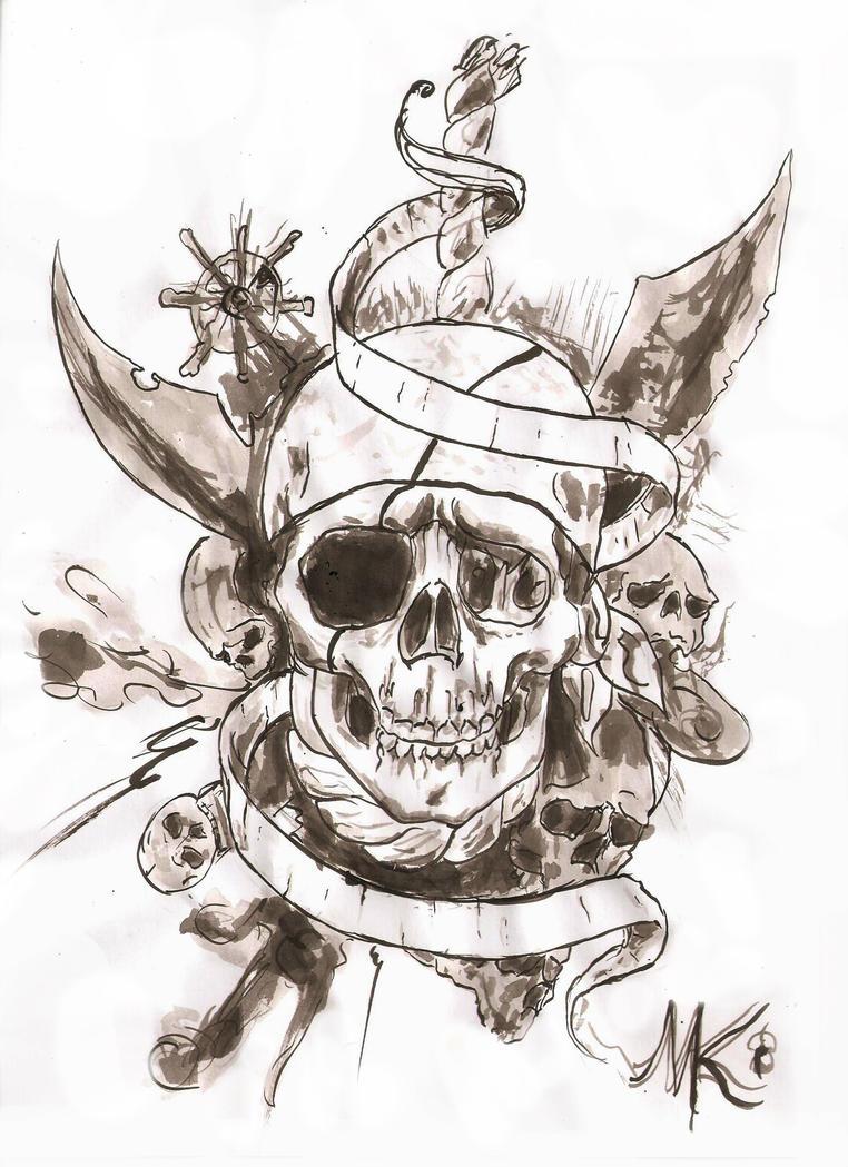 pirate tattoo - Google Search | Tattoo Ideas &- Art | Pinterest ...