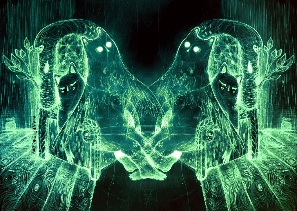 Astral projection by Ferruti