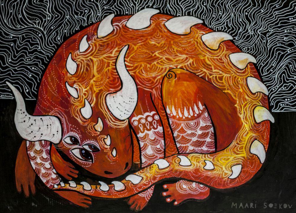 Dragon child by Ferruti