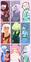 Steven Universe Bookmarks