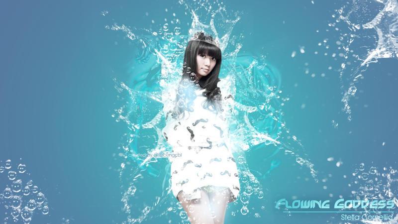 Stella JKT48 Flowing Goddess by kecengcbl