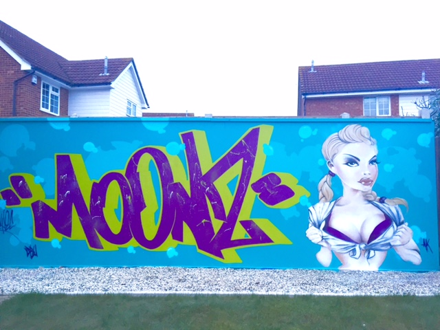 FIRST WALL FOR 2016 by NEYEC