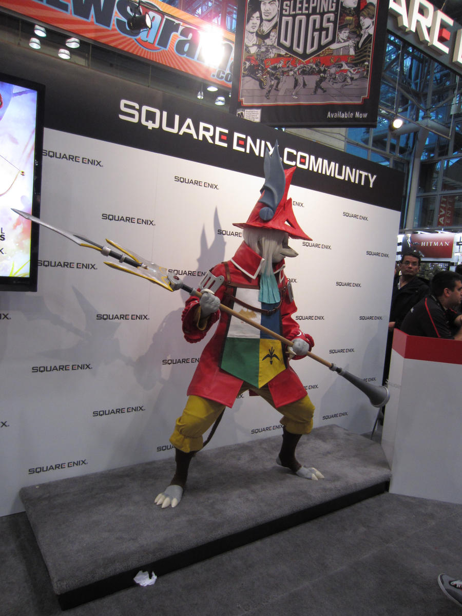 Freya at Square Enix Booth by Firewolf77