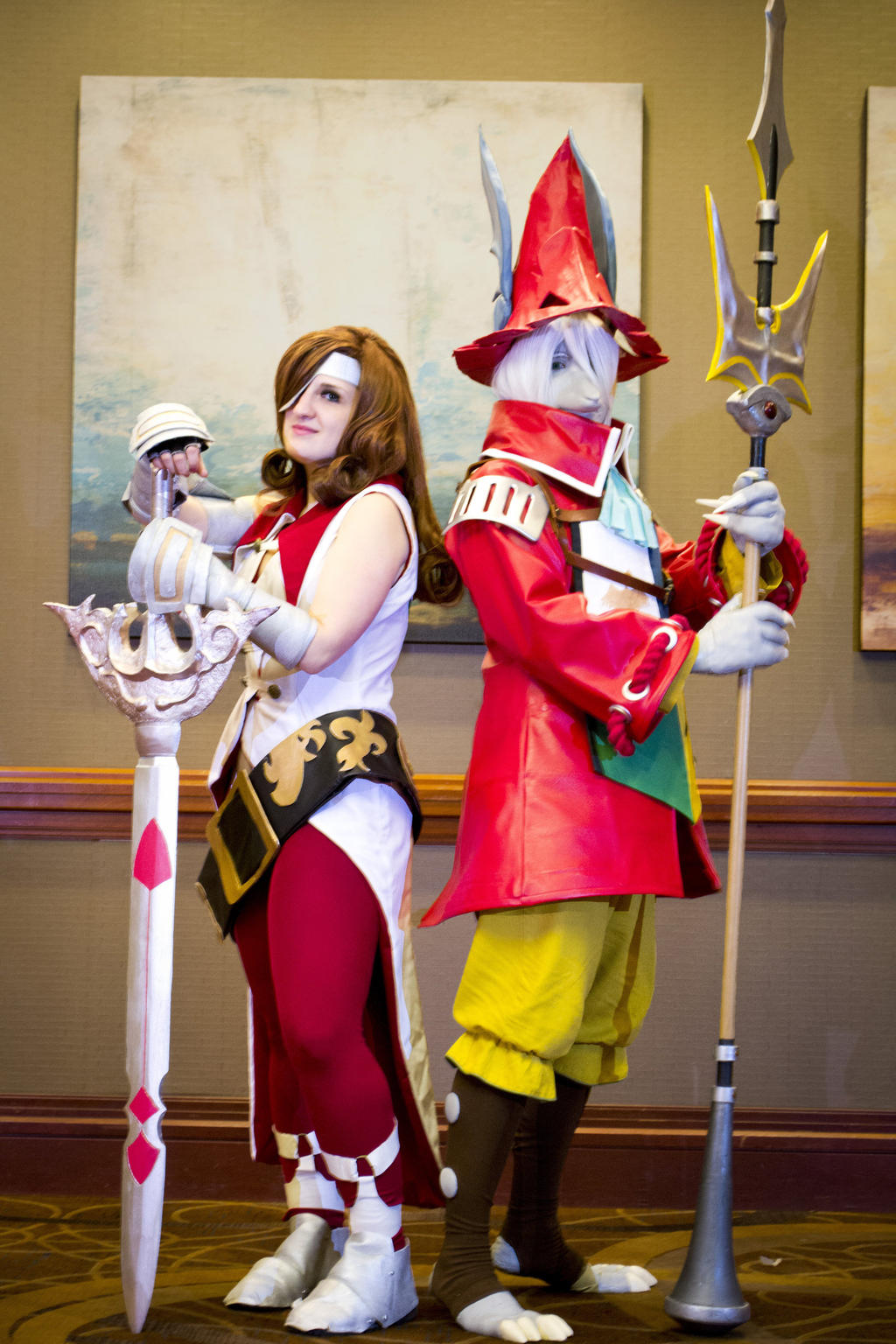 General Beatrix Cosplay Beatrix and Freya by F...