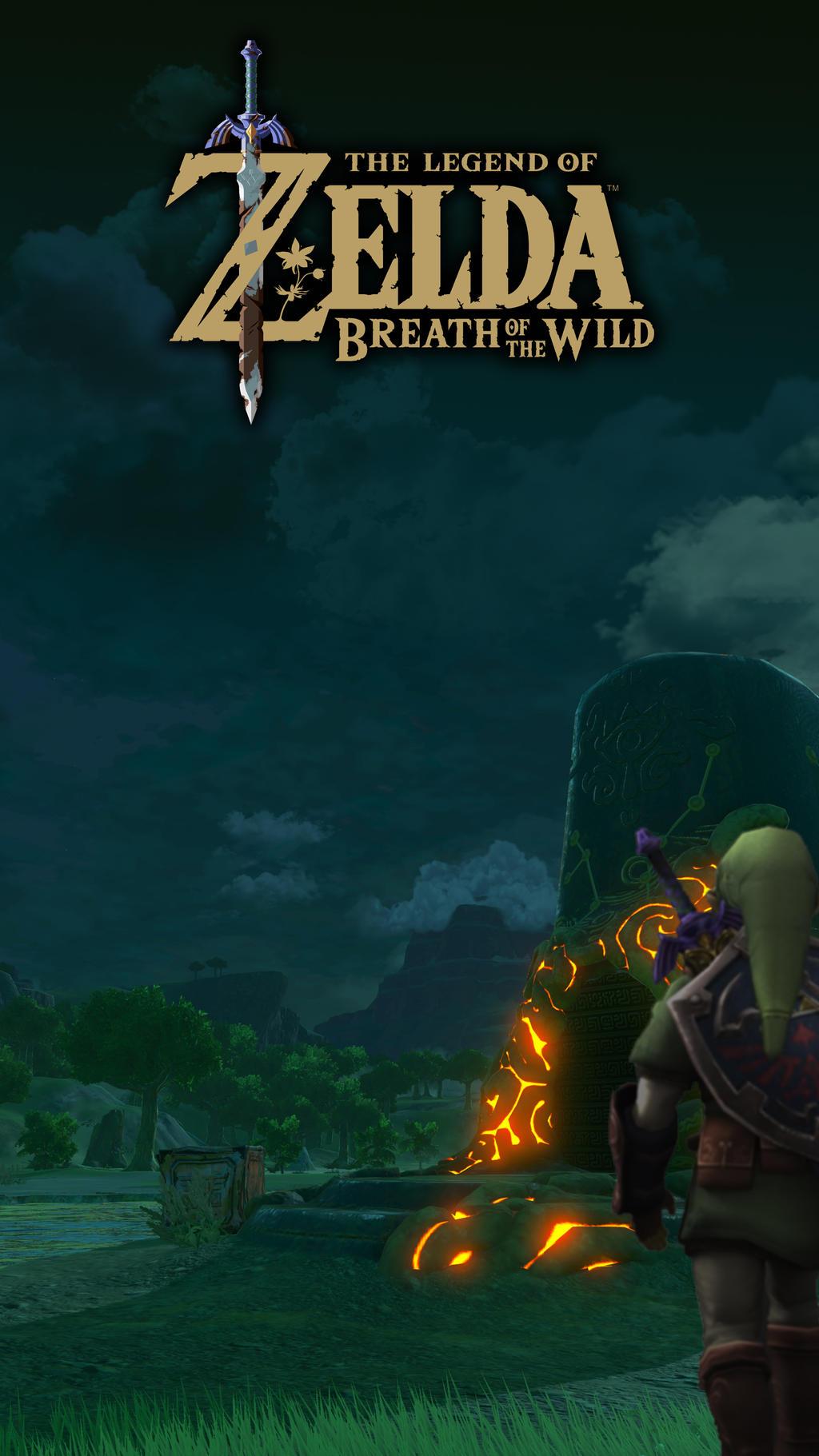 Zelda Botw 4k Phone Wallpaper By Acraham On Deviantart