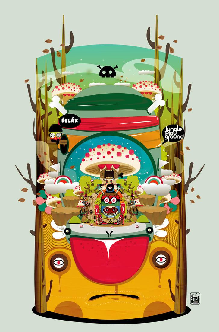 Kokon Jungle Playground by muloyoung85